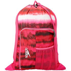 speedo Deluxe Ventilator Mesh Bag 35l cage pink